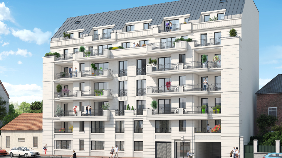 immobilier appartement saint ouen cosy garden novaxia